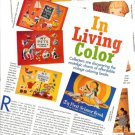 Article/Pictures/Information on Children's Vintage Coloring Color Books