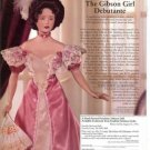 Franklin Heirloom Laura Gibson Girl Debutante Doll Ad