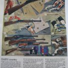 Daisy Guns & Toy Play Sets Ad~Western Town/Castle/ Army