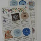 Interesting Color Photo Article on Advertising Plates