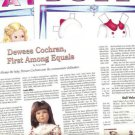 Interesting Dewees Cochran Article/Information~Sonja Henie Magazine Paper Dolls