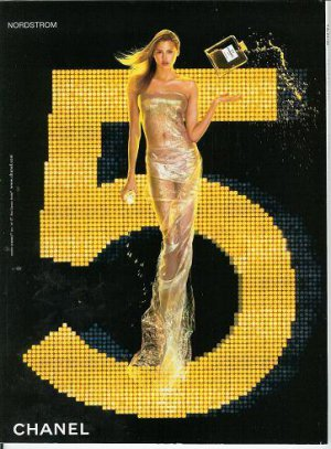 Interesting Nordstrom Chanel No/Number 5 Perfume/Parfum Ad/Advertisement