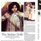 Interesting Article/Pics/Information on Jules Steiner Dolls