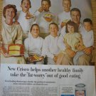 1960s Ad~John Jenkins Family of Glenview IL Illinois
