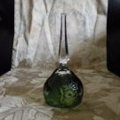 *EXQUISITE NACHTMANN'S GREEN CRYSTAL BELL  MATCHES WITH DECANTER SET