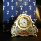 AUTHENTIC DELFT BLAUW SMALL DELFT MANTEL CLOCK@@ HAVE ORIGINAL BOX AND COA