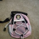 PINK US ARMY GOLF ASSIST BAG.CAN BE USED AS WALLET ETC. MINIATURE BACKAPAXCK NEW