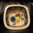 AUTHENTIC POLISH POTTERY SQUARE.SERVING BOWL BEAUTIFUL PIECE. @@TAKE A LOOK@@