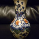 "AUTHENTIC POLISH POTTERY 6"" BUD VASE.BEAUTIFUL PIECE. @@TAKE A LOOK@@"