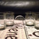 4 CRYSTAL**UNITED STATES ARMY EMBLEM** ETCHED GLASSES...DONT FORGET DAD!!!!!!!