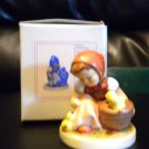 """HUMMEL FIGURINE """"CHICK GIRL""""  #57 2/0 TMK6)***MINT CONDITION** WITH BOX"""