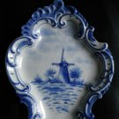 "AUTHENTIC DELFT BLAUW WALL PLATE ""HOLLAND"""