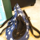 @@@@PRE-OWNED @@NICE BLUE WITH BONES CARRYING TOTE FOR PETS. @@@ LOOK..@@@@