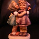 HUMMEL FIGURINE &quot;TELLING HER SECRET&quot; #196/0  TMK4   ** MINT CONDITION