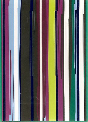 NEW Lined Deep Colored Stripes Journal or Diary - 2012 Edition!