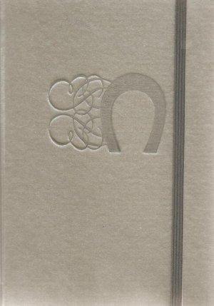 NEW Lined Silver Lucky Horseshoe Journal or Diary - 2012 Edition!