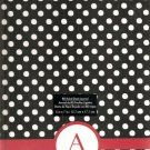 "NEW Lined Red Polka Dot ""A"" Journal or Diary - Special Price!"