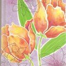 NEW Lined Orange Flower Journal or Diary - Sale Priced!