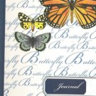 NEW Lined Three Butterflies Journal or Diary
