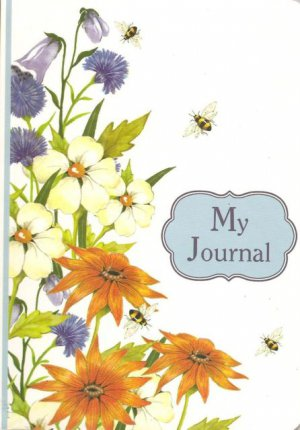 NEW Lined Spring Flowers Journal or Diary
