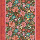 NEW Lined Red Bordered Garden Quilt Journal or Diary - Just In!