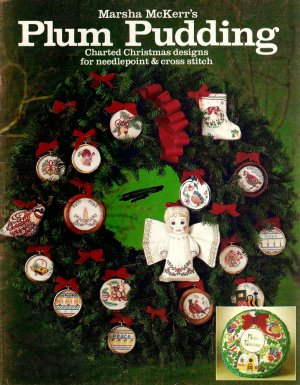 Plum Pudding Cross Stitch Pamphlet