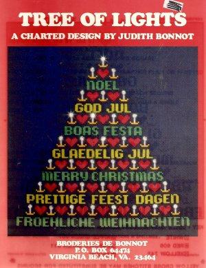 Tree of Lights Cross Stitch Pamphlet