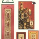 "Cinnamon Stick Christmas I ""Santas"" Cross Stitch Pattern"
