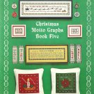 Christmas Motto Graphs Book Five Cross Stitch Pattern