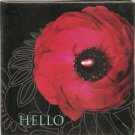 New Hello Greeting Cards or Notecards - 6 Pack