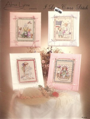 I Love Cross Stitch Cross Stitch Pattern