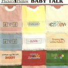 Baby Talk Cross Stitch Pattern