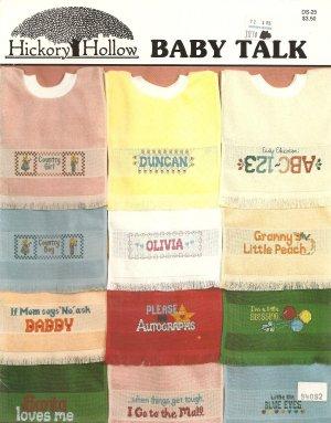 Baby Talk Cross Stitch Pattern