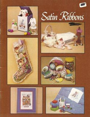 Satin Ribbons Cross Stitch Pattern