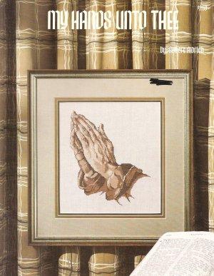 My Hands Unto Thee Cross Stitch Pattern