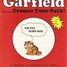 Garfield...Crosses Your Path! Cross Stitch Pattern