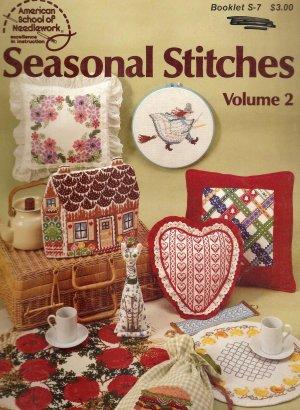 Seasonal Stitches Volume 2 Cross Stitch Pattern