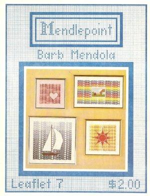 Mendlepoint Leaflet 7 Cross Stitch Pattern