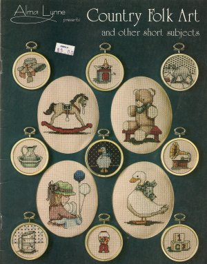 Country Folk Art and other short subjects Cross Stitch Pattern
