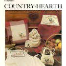 Country Hearth Cross Stitch Pattern