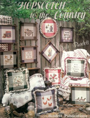 Hopscotch To the Country Cross Stitch Pattern