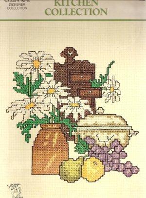 Kitchen Collection Cross Stitch Pattern