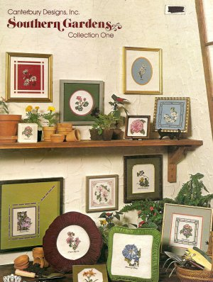 Southern Gardens Collection One Cross Stitch Pattern