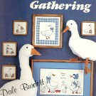 Goose Gathering Cross Stitch Pattern