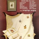 State Bird and Flower Stamps Cross Stitch Pattern