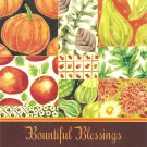 Bountiful Blessings Note Cards - 6 Pack