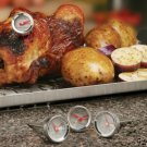 RT-04 SET OF 4 MINI GRILLING COOKING THERMOMETERS (FREE SHIPPING)