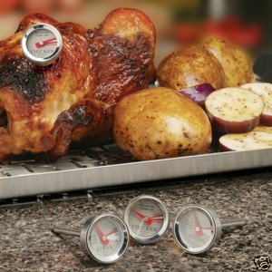 RT-04 SET OF 4 MINI GRILLING COOKING THERMOMETERS