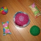 Handmade Organic Catnip Assortment Of Cat Toys
