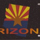 Arizona State Car License Plate (2)